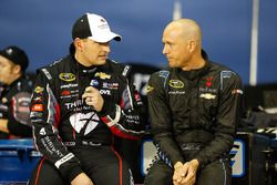 Michael McDowell, Circle Sport Leavine Family Racing Chevrolet, Josh Wise, The Motorsports Group Che