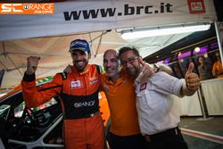 Simone Campedelli e Armando Donazzan, CEO di Orange1 Racing