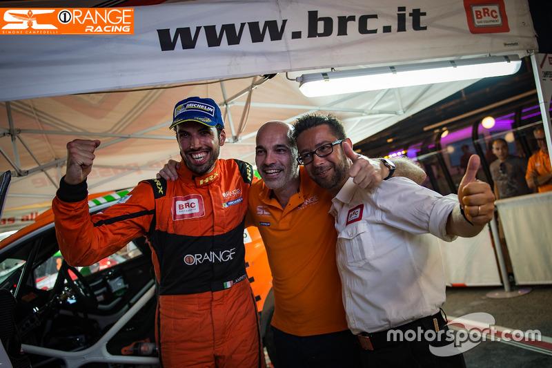 Simone Campedelli e Armando Donazzan, CEO di Orange1 Racing
