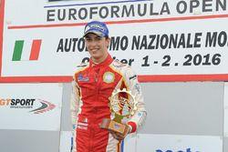 Race winner Leonardo Pulcini, Campos Racing
