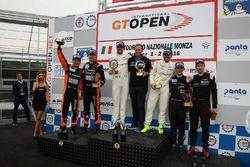 Podium: 1. #34 TF Sport, Aston Martin Vantage GT3: Salih Yoluc, Euan Hankey; 2. #27 Orange 1 Team La