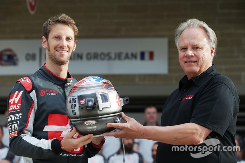 100e Grand Prix pour Grosjean
