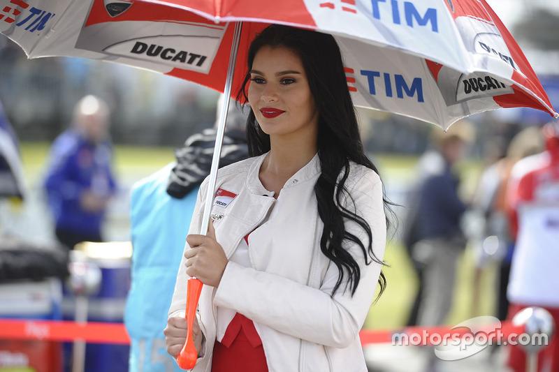 Chica Ducati Corse