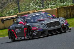 #9 Absolute Racing Bentley Continental GT3: Vutthikorn Inthraphuvasak, Christer Joens