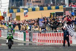 Sieger: #11 Kawasaki: Grégory Leblanc, Mathieu Lagrive, Fabien Foret