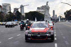 Demostración de Citroën en Buenos Aires