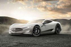 Rendu de la Tesla Model R par CarWOW