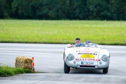 Neel Jani, Malcolm Thorne, Porsche 550 Spyder, Bj. 1954