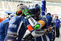 Katsuyuki Nakasuga et Pol Espargaro (#21 Yamaha Factory Racing Team)