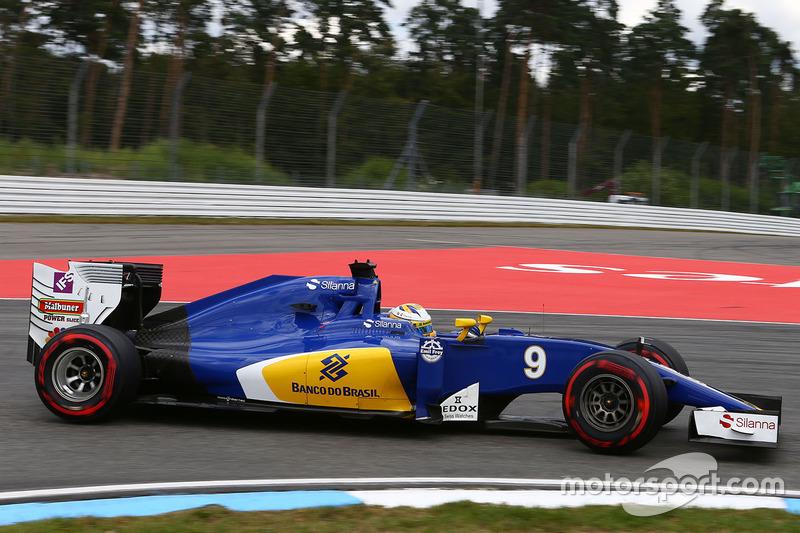 18. Marcus Ericsson, Sauber C35