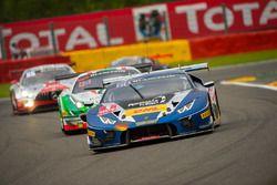 #101 Attempto Racing, Lamborghini Huracan GT3: Fabio Babini, Patric Niederhauser, Daniel Zampieri