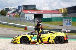 Crash: #3 Bonaldi Motorsport Lamborghini Huracán GT3: Patrick Kujala