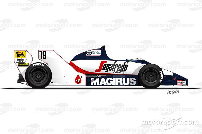 1984: Toleman-Hart TG183B