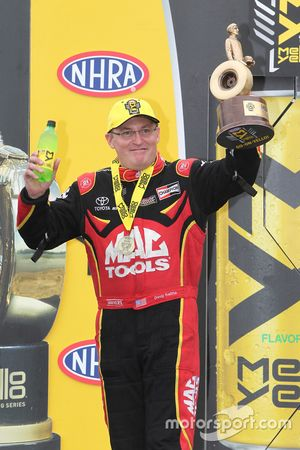 Top Fuel winner Doug Kalitta