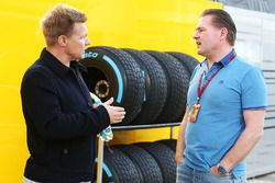 Mika Salo with Jos Verstappen