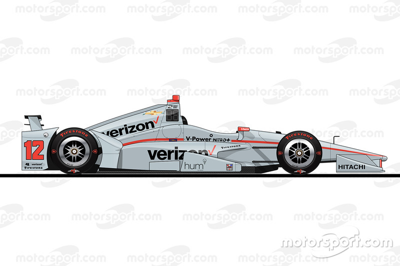 Startpositie 6: Will Power (Penske-Chevrolet)