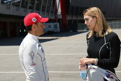 Gianni Morbidelli, West Coast Racing, Honda Civic TCR and Alessandra Neri, B.D. Racing Motorsport, S