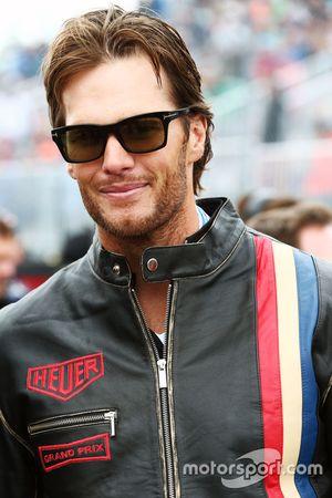 Tom Brady, New England Patriots Quarterback on the grid