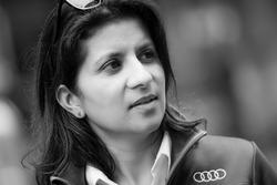 #7 Audi Sport Team Joest Audi R18: ingeniero de carrera Leena Gade