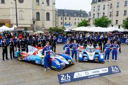 #37 SMP Racing, BR01 Nissan: Vitaly Petrov, Viktor Shaytar, Kirill Ladygin; #27 SMP Racing, BR01 Nis