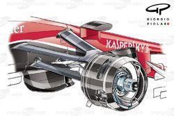 Ferrari SF15-T front brake caliper