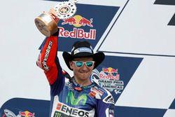 Second place Jorge Lorenzo, Movistar Yamaha MotoGP, Yamaha