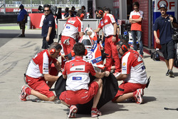 Ducati Team, Mechaniker bei der Arbeit