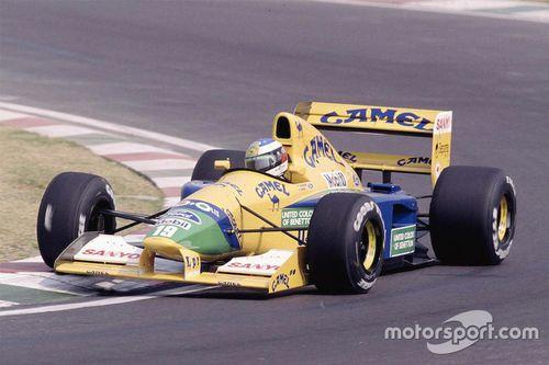 Asta Benetton Michael Schumacher