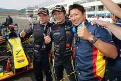 Tatsuya Kataoka, Team LeMans, Kazuya Oshima, Team LeMans, Felix Rosenqvist, Team LeMans