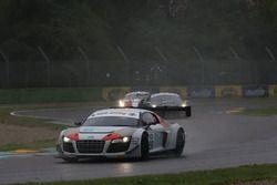 Audi R8 LMS-GT3 #98 Audi Sport italia: Mangoni - Rangoni