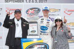 Race winner Austin Cindric, Brad Keselowski Racing Ford