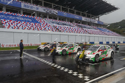 Габриэле Тарквини, Норберт Михелиц и Рио Мичигами, Honda Racing Team JAS, Honda Civic WTCC