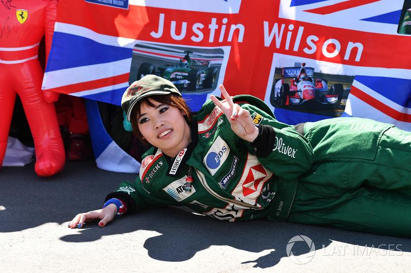 Justin Wilson taraftarı