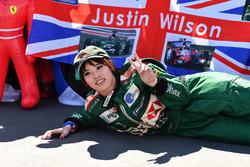 Des fans de Justin Wilson