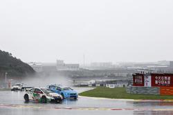 Gabriele Tarquini, Honda Racing Team JAS, Honda Civic WTCC, Nicky Catsburg, Polestar Cyan Racing, Vo