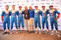 Julien Canal, Bruno Senna, Nicolas Prost, Mathias Beche, David Heinemeier Hansson, Nelson Piquet Jr., Vaillante Rebellion Racing