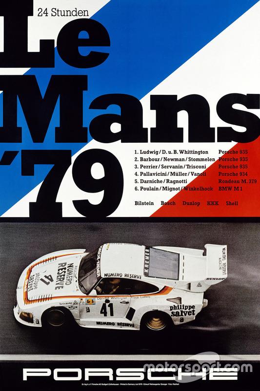 Poster: Porsche-Sieg bei den 24h Le Mans 1979
