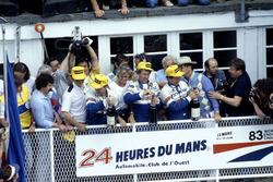 1. Al Holbert, Hurley Haywood, Vern Schuppan, Porsche 956