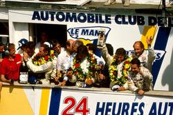 Йохен Масс, Мануэль Ройтер, Стенли Дикенс, Sauber Mercedes (победители), Мауро Бальди, Кенни Эчесон,