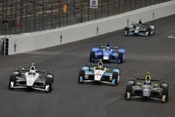 Simon Pagenaud, Team Penske Chevrolet, Ed Carpenter, Ed Carpenter Racing Chevrolet, Gabby Chaves, Ha