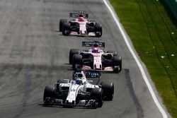 Felipe Massa, Williams FW40, Sergio Perez, Sahara Force India F1 VJM10, Esteban Ocon, Sahara Force India F1 VJM10