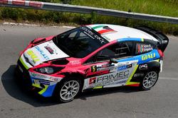 Marco Signor, Monica Cicognini, Ford Fiesta WRC, Sama Racing