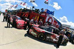 Austin Dillon, Richard Childress Racing, Chevrolet; Ryan Newman, Richard Childress Racing, Chevrolet