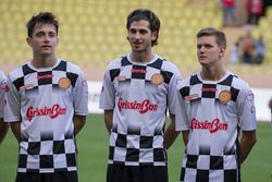Charles Leclerc, Prema Racing; Antonio Giovinazzi; Mick Schumacher