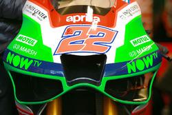 Aprilia aerodynamic fairing