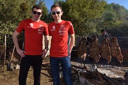 Medewerkers van Citroën World Rally Team