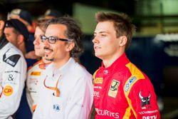Louis Deletraz, Racing Engineering con i volontari FIA