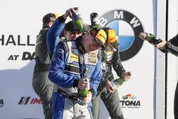 GS Podyum: 1. Cameron Cassels, Trent Hindman, Bodymotion Racing, 2. Marc Miller, Till Bechtolsheimer
