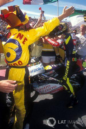 Valentino Rossi, Aprilia viert feest met fans