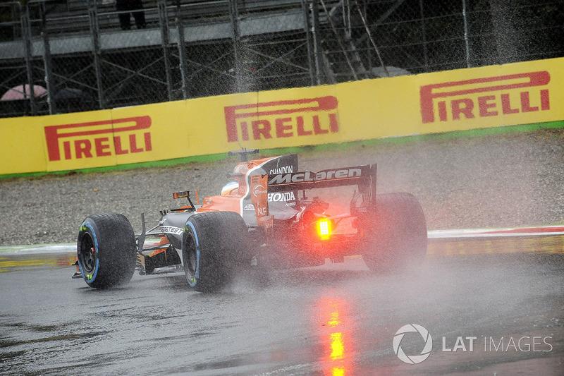 No pudo disfrutar de la lluvia de Italia